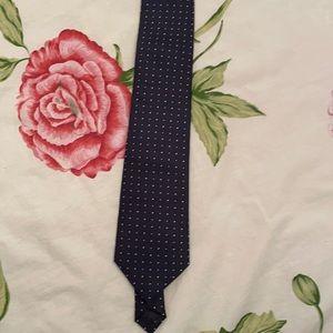 Clericci navy tie